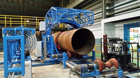 Large diameter pipes inspection